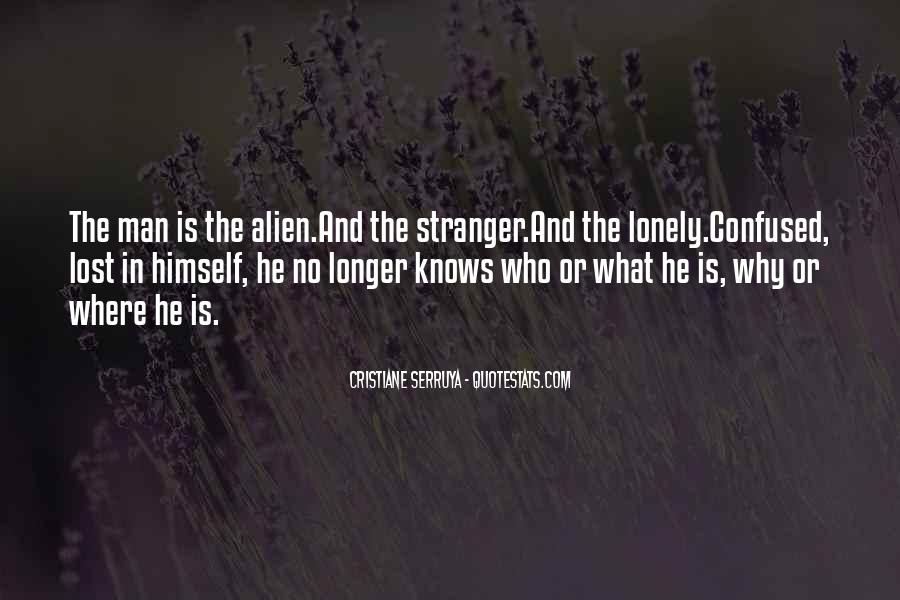 Lonely Lost And Confused Quotes #741020