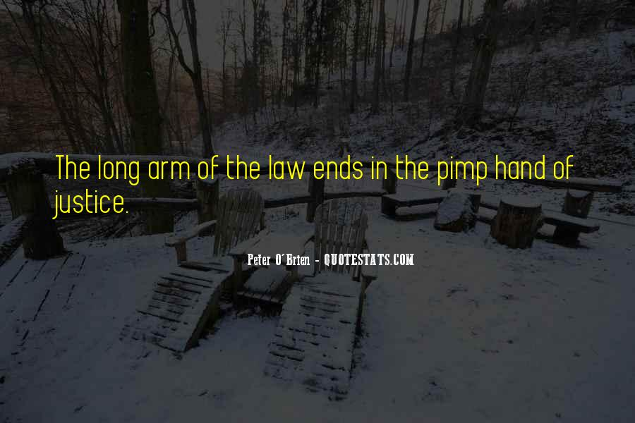 Long Arm Of The Law Quotes #447743