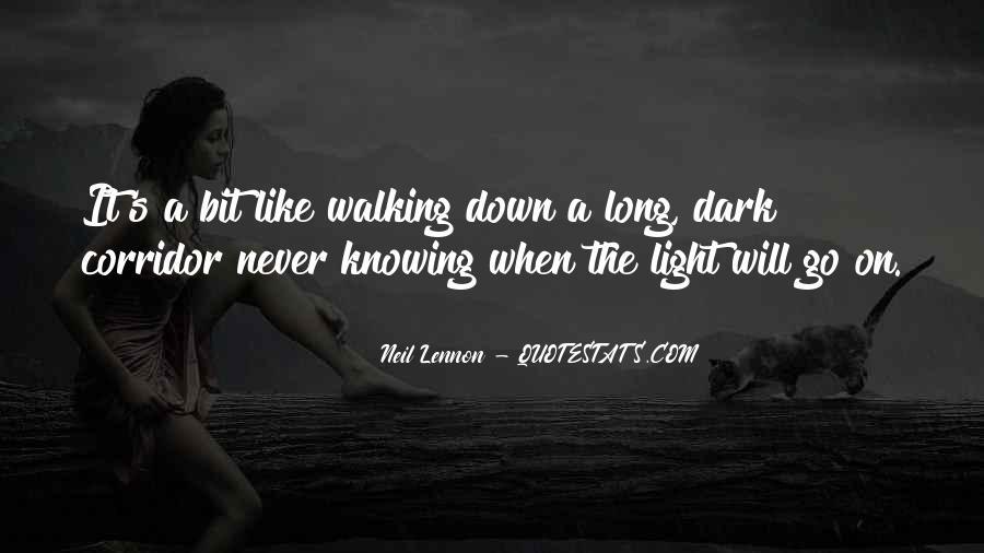 Long Corridor Quotes #336824