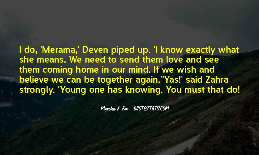 Quotes About Deven #1718587