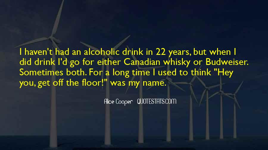 Long Drink Quotes #559385