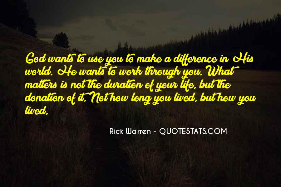 Long Life Lived Quotes #1133032