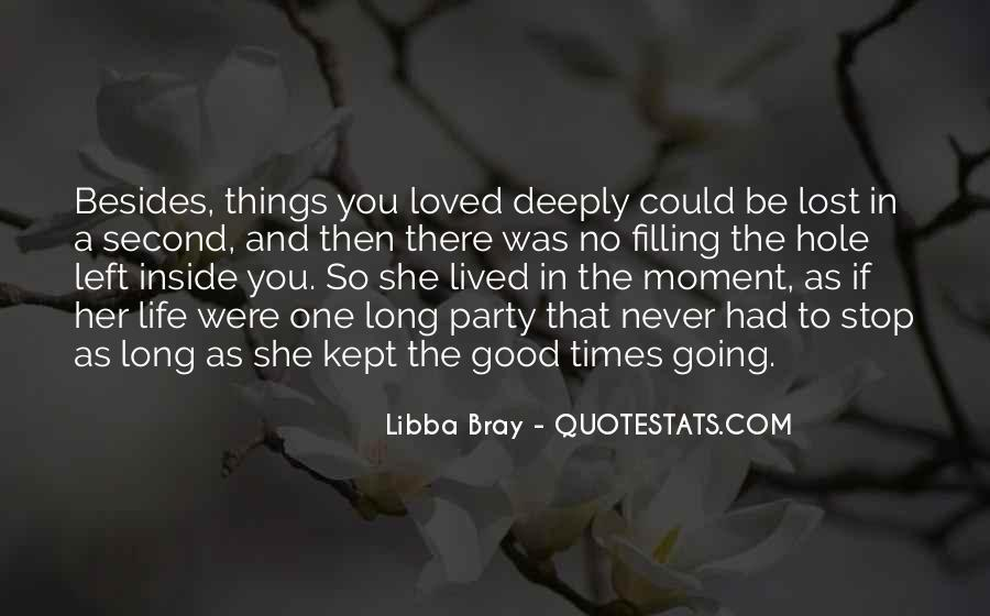 Long Life Lived Quotes #1515319