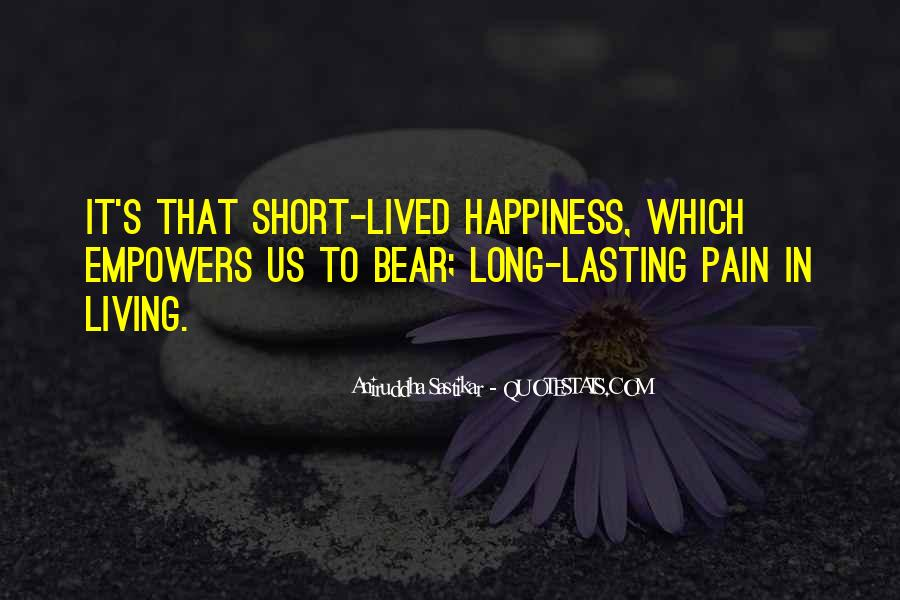 Long Life Lived Quotes #1711210