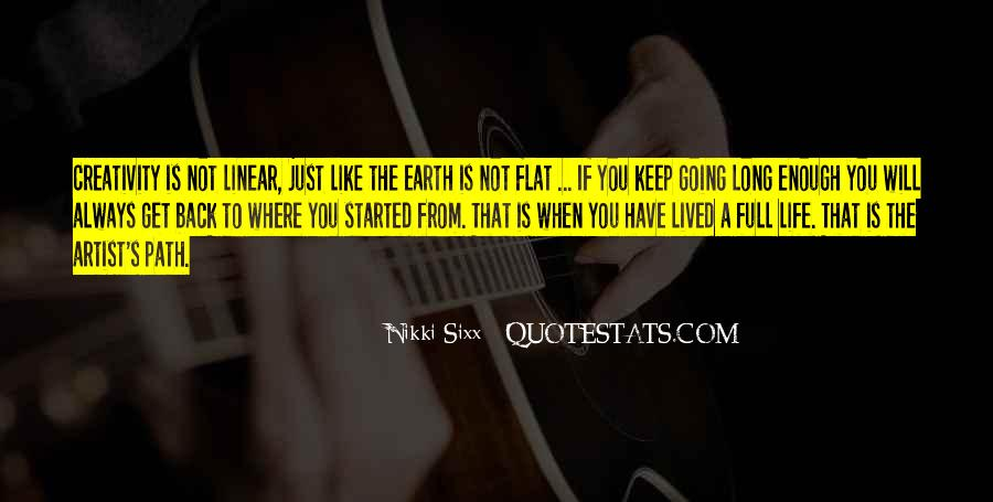 Long Life Lived Quotes #1717486