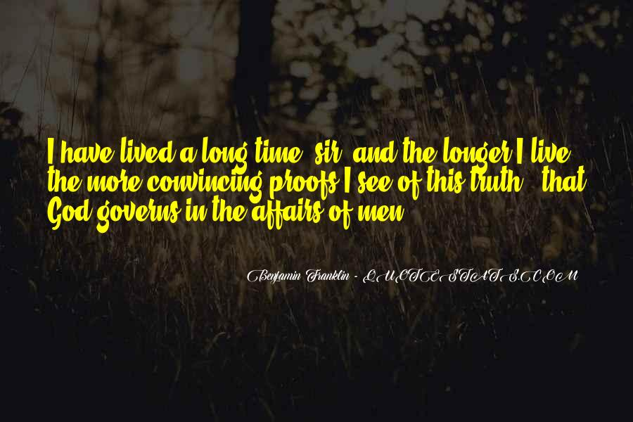 Long Life Lived Quotes #242072