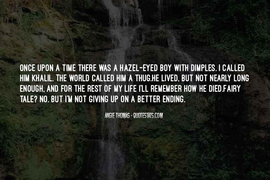 Long Life Lived Quotes #396273