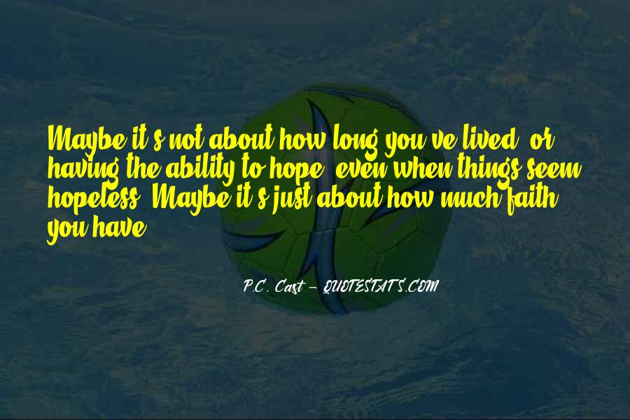 Long Life Lived Quotes #738090