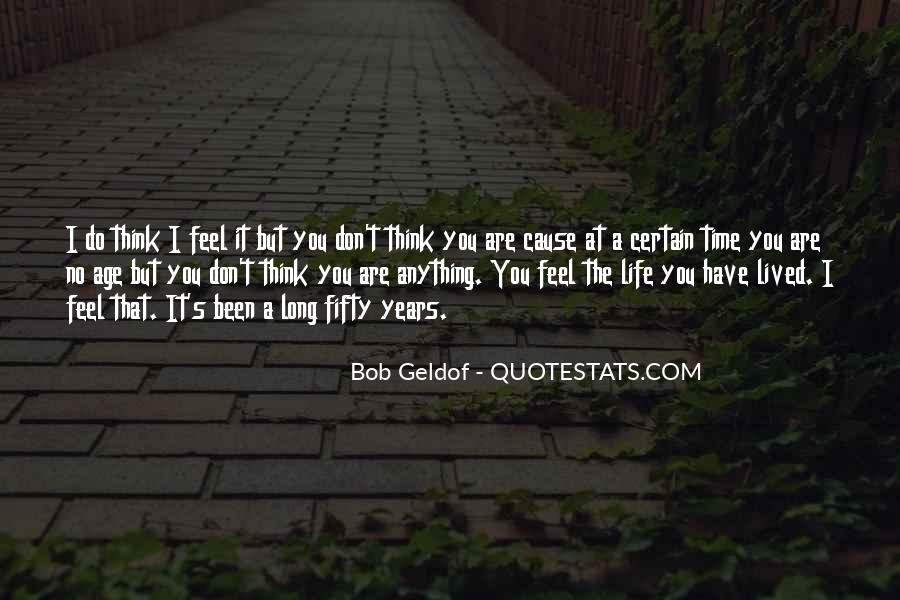 Long Life Lived Quotes #796467
