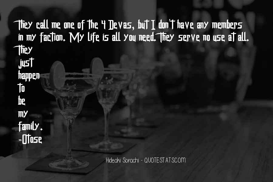 Quotes About Devas #348839