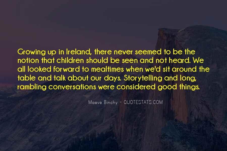 Long Rambling Quotes #1233014