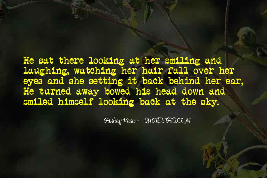 Look Behind The Smile Quotes #1090963