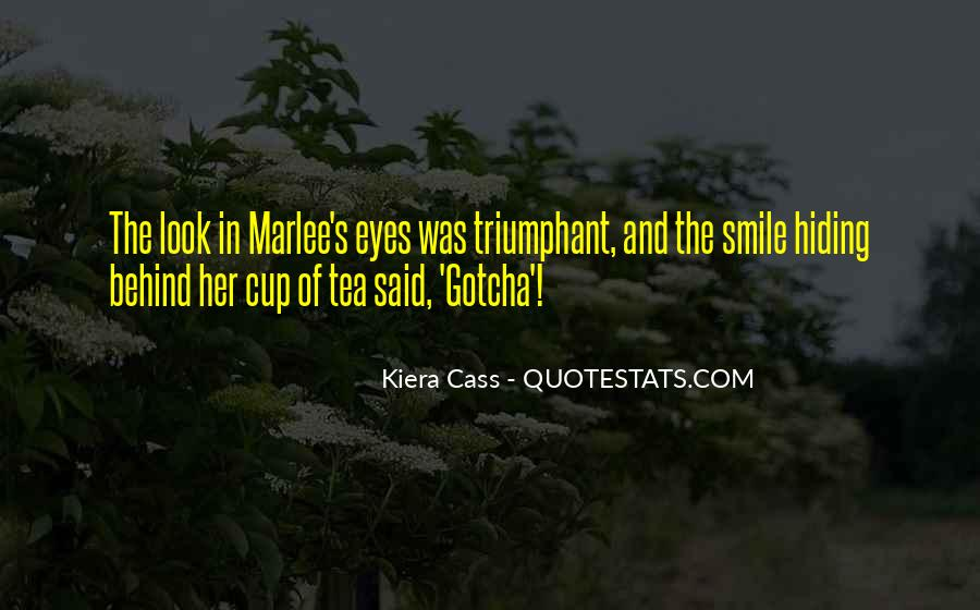 Look Behind The Smile Quotes #389441