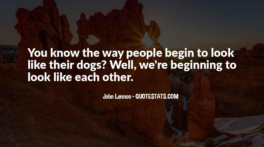 Look Each Other Quotes #199742