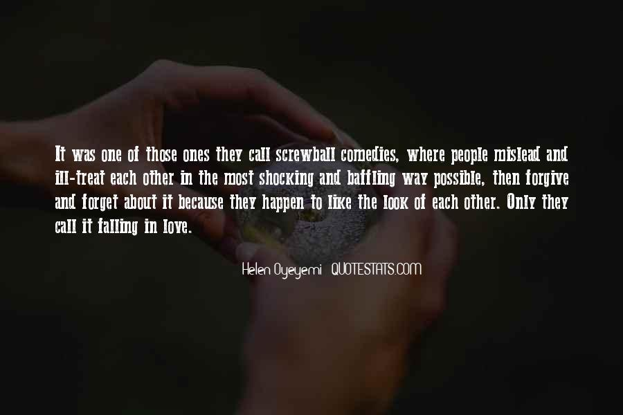 Look Each Other Quotes #244874