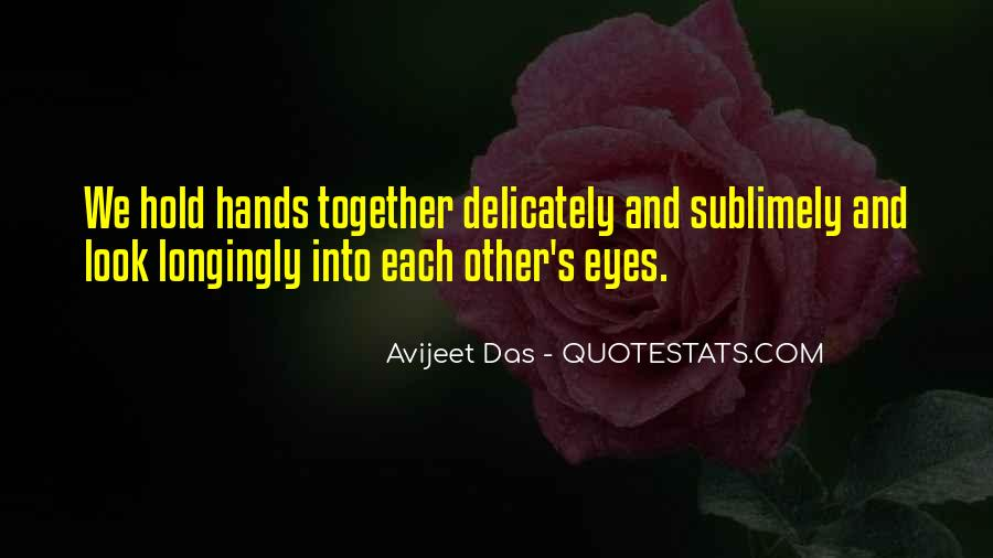 Look Each Other Quotes #257811
