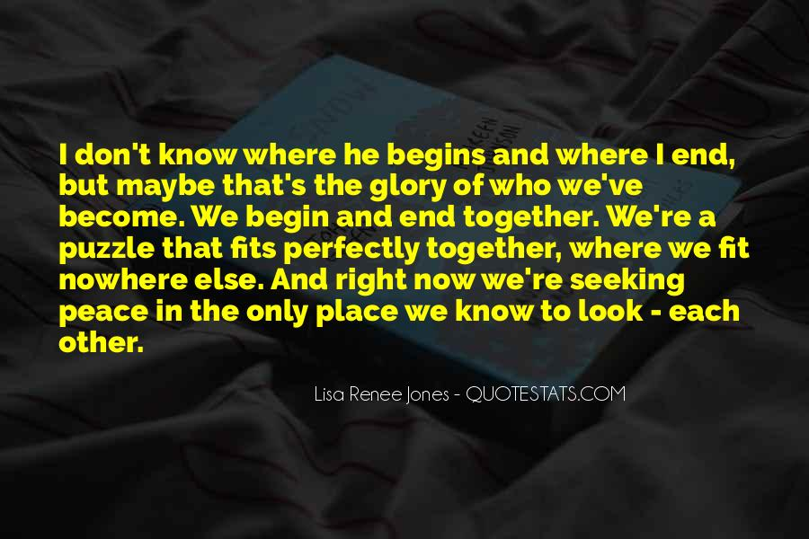 Look Each Other Quotes #480787