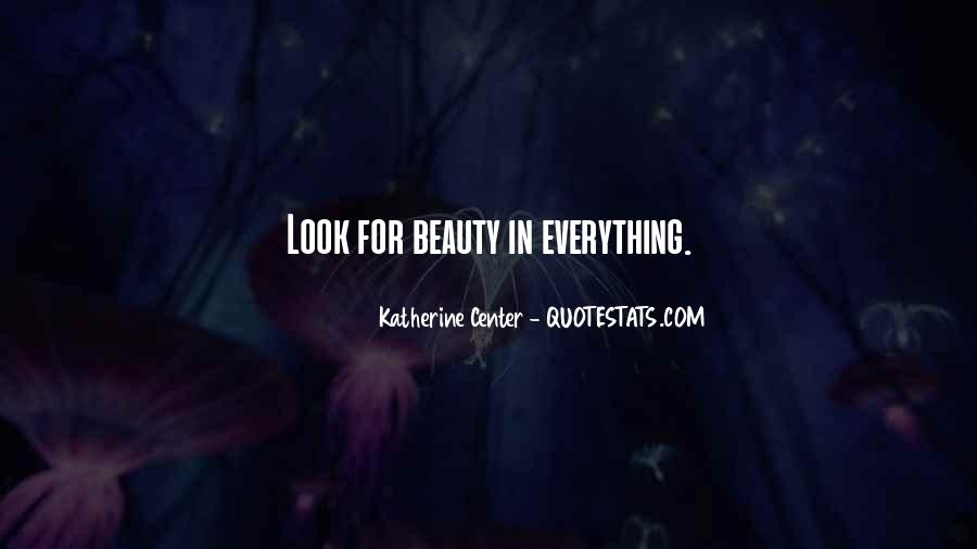 Look For Beauty Quotes #169045