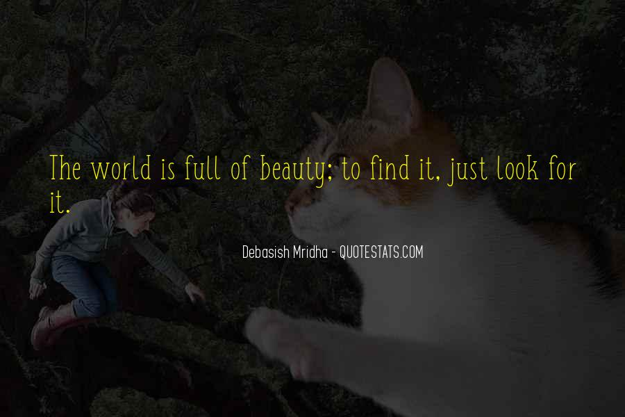 Look For Beauty Quotes #355690