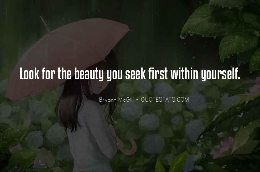 Look For Beauty Quotes #758977