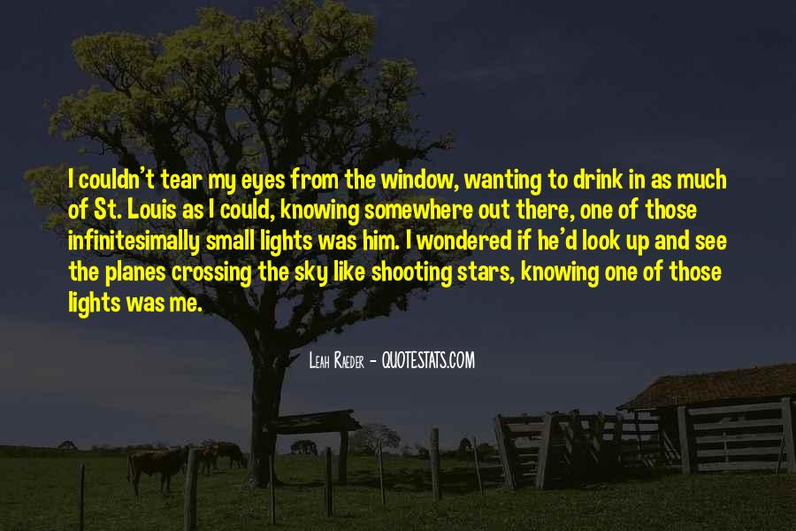 Look Out The Window Quotes #35895