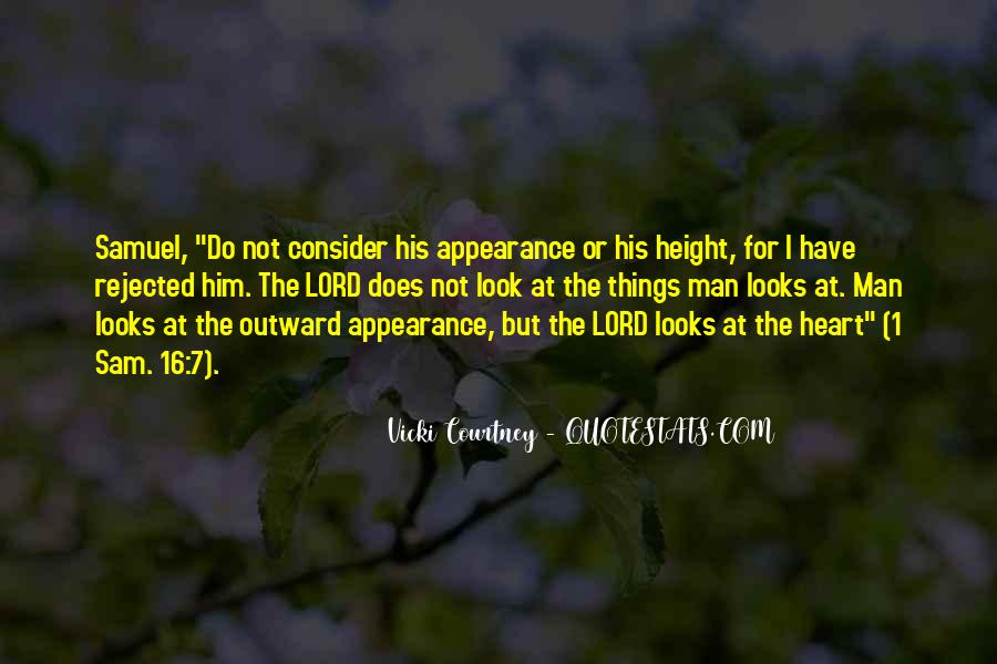 Look Past Appearance Quotes #41382