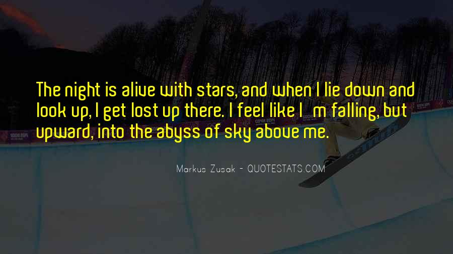 Look Up The Sky Quotes #1396991