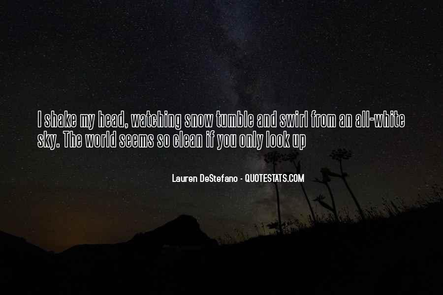 Look Up The Sky Quotes #179348