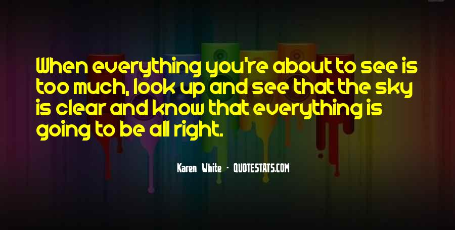 Look Up The Sky Quotes #25797
