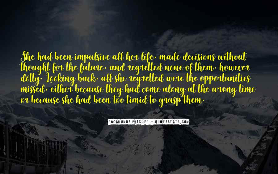 Looking Back Future Quotes #386798