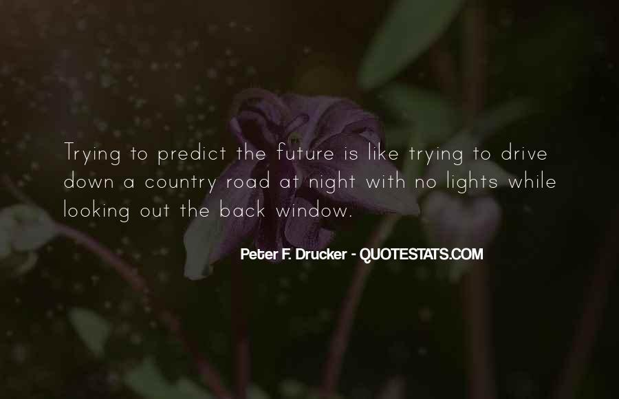 Looking Back Future Quotes #475217