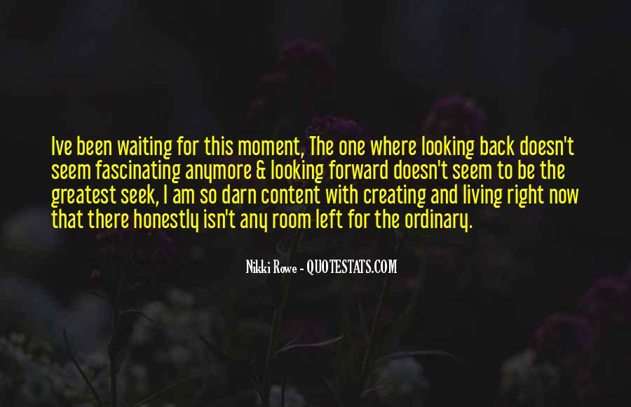 Looking Back Future Quotes #549608