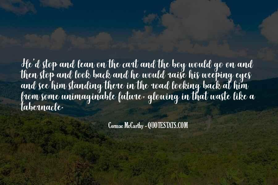 Looking Back Future Quotes #612203