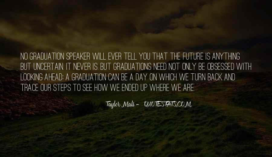 Looking Back Future Quotes #870539