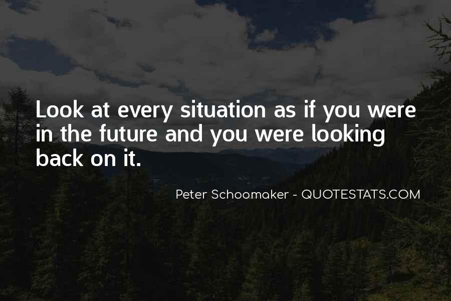 Looking Back Future Quotes #951179