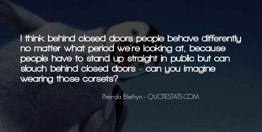 Looking Behind Quotes #1058841