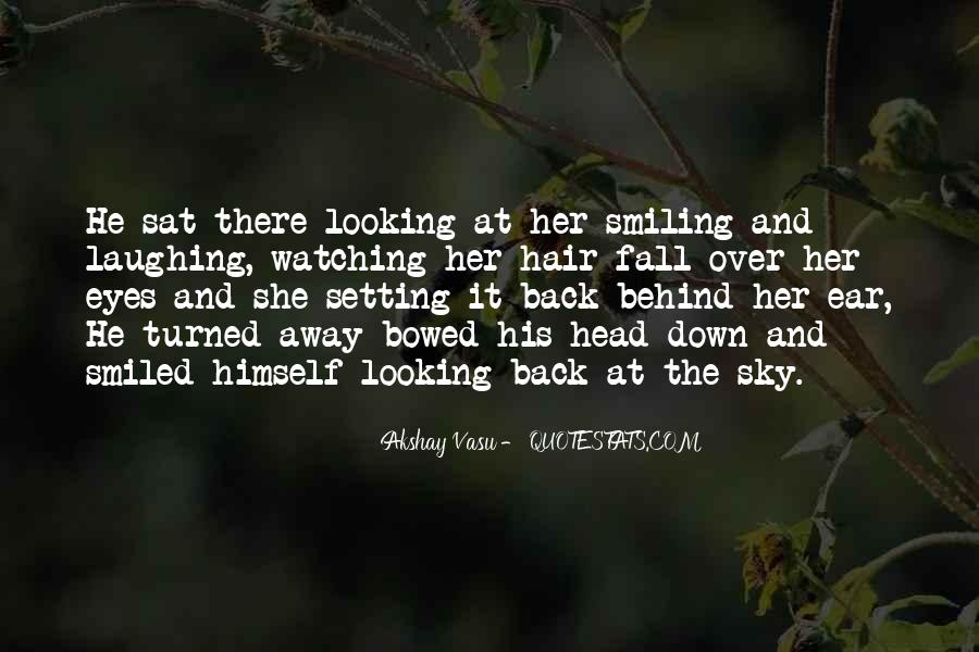 Looking Behind Quotes #1090963
