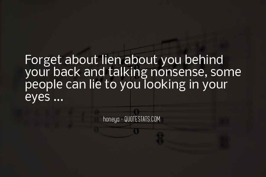 Looking Behind Quotes #336457