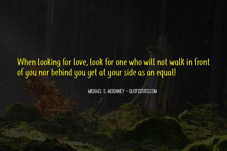 Looking Behind Quotes #381986