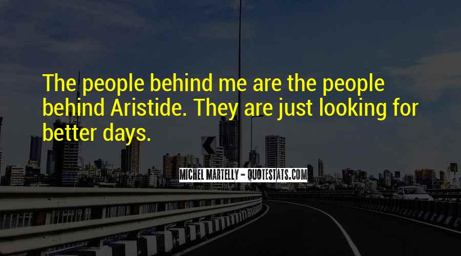 Looking Behind Quotes #422526