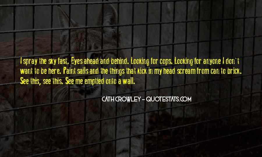 Looking Behind Quotes #52402