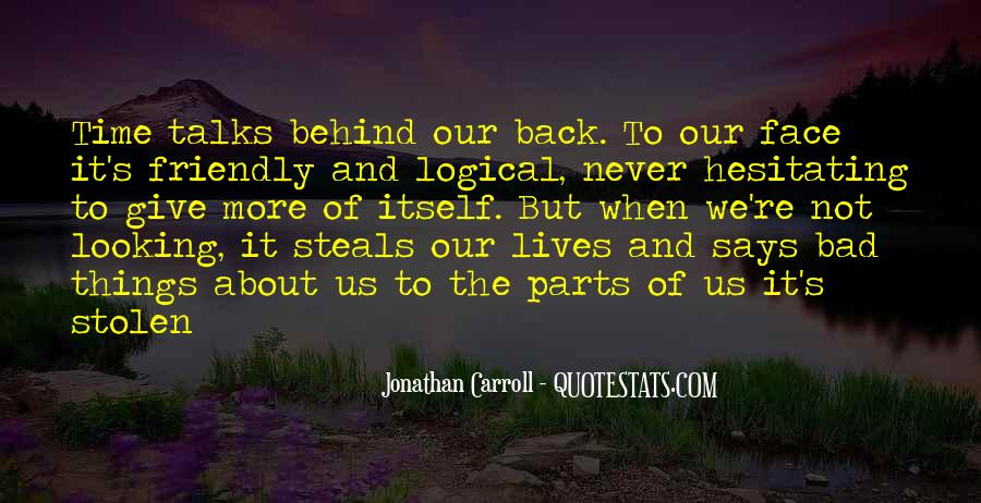 Looking Behind Quotes #818874