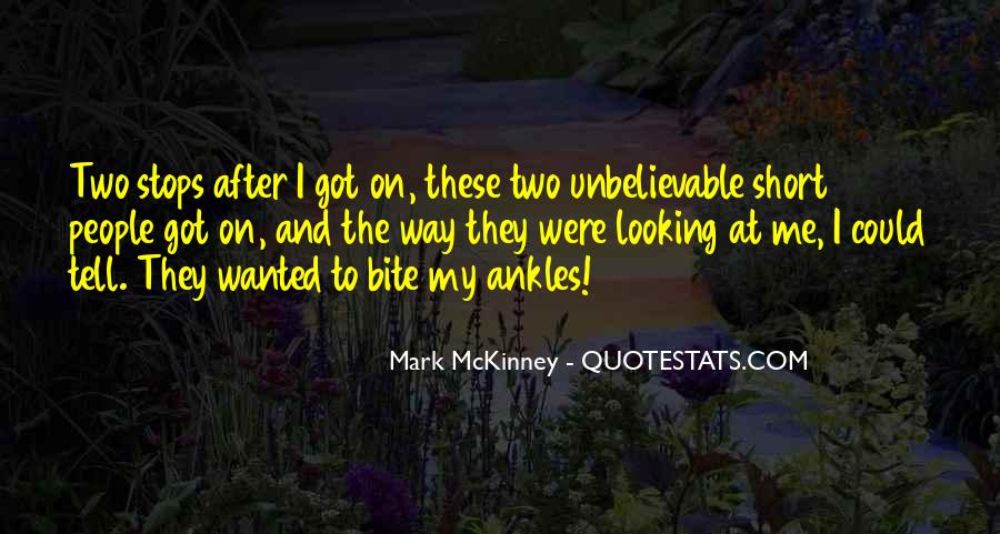 Looking Short Quotes #1104345