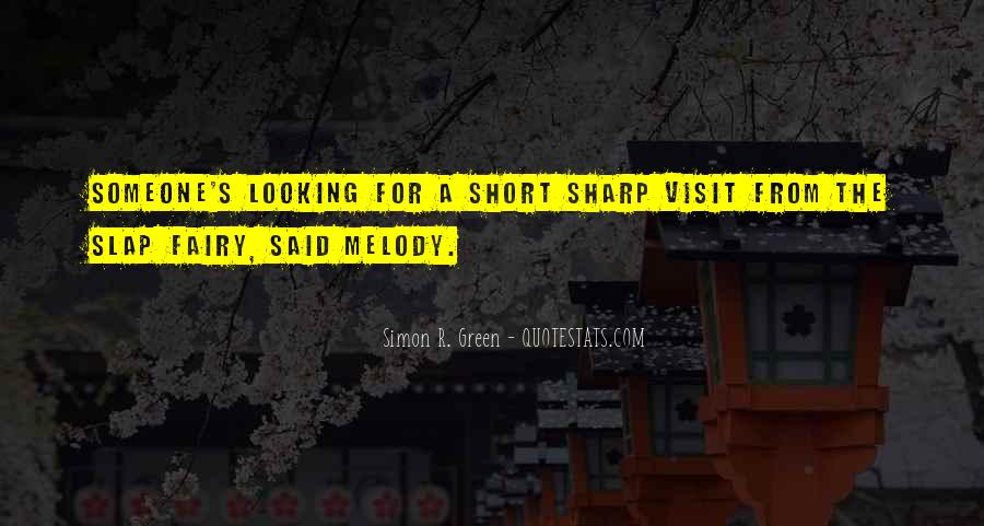 Looking Short Quotes #1233223