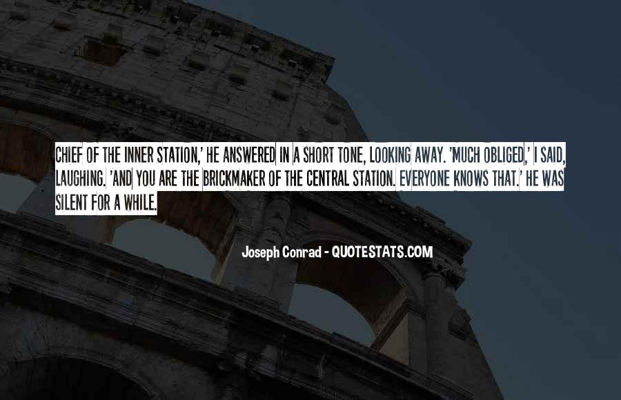 Looking Short Quotes #1249966