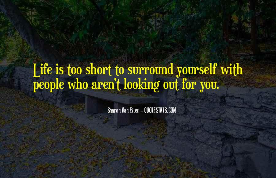 Looking Short Quotes #1271201