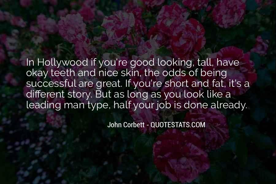 Looking Short Quotes #313682