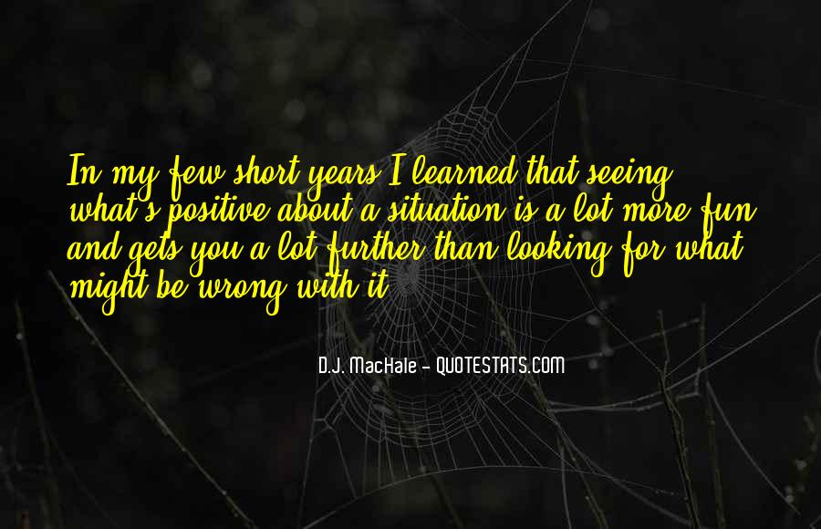 Looking Short Quotes #596931
