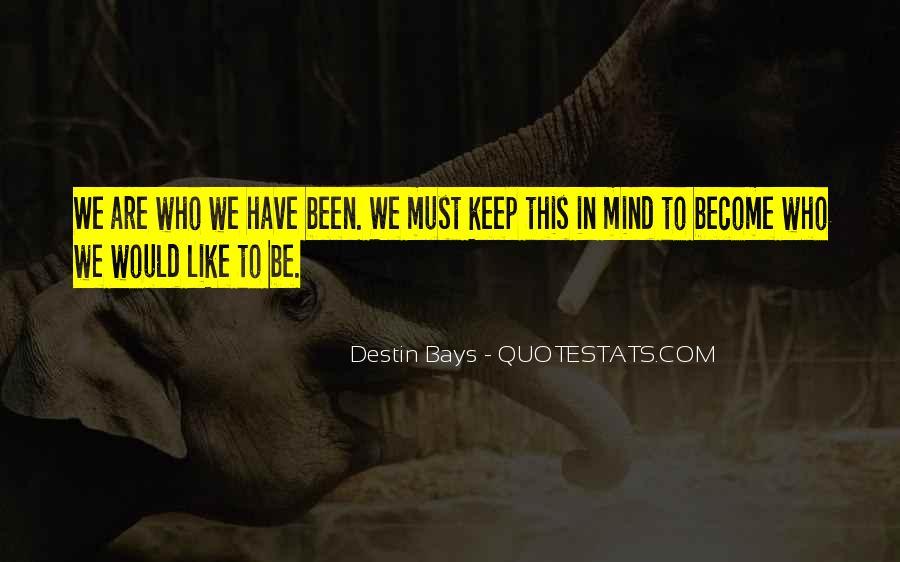 Quotes About Destin #1142925