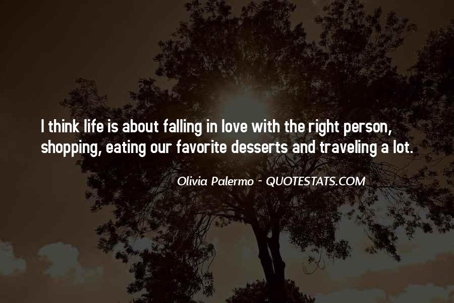 Quotes About Desserts And Love #31865